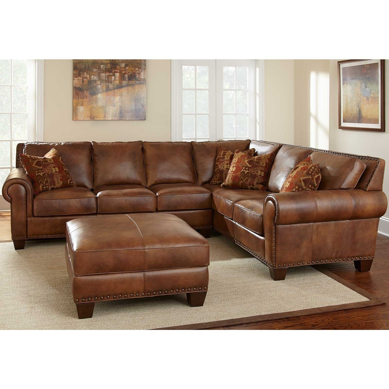 Sectional Sofa Design: High End Leather Sectional Sofas For Sale Intended For On Sale Sectional Sofas (Image 8 of 10)