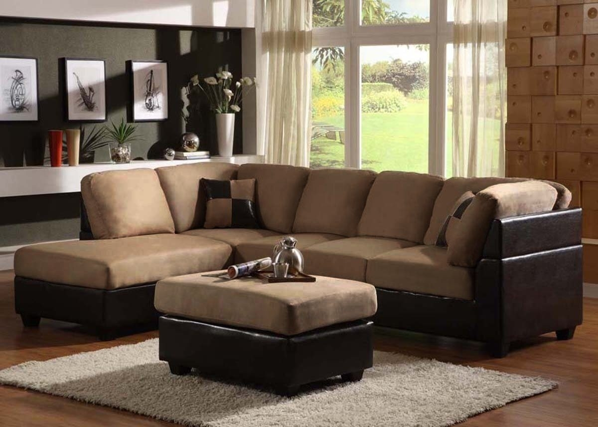 Sectional Sofa Design: Sectional Sofas With Chaise Lounge Recliner With Small Sectional Sofas With Chaise And Ottoman (Image 3 of 10)
