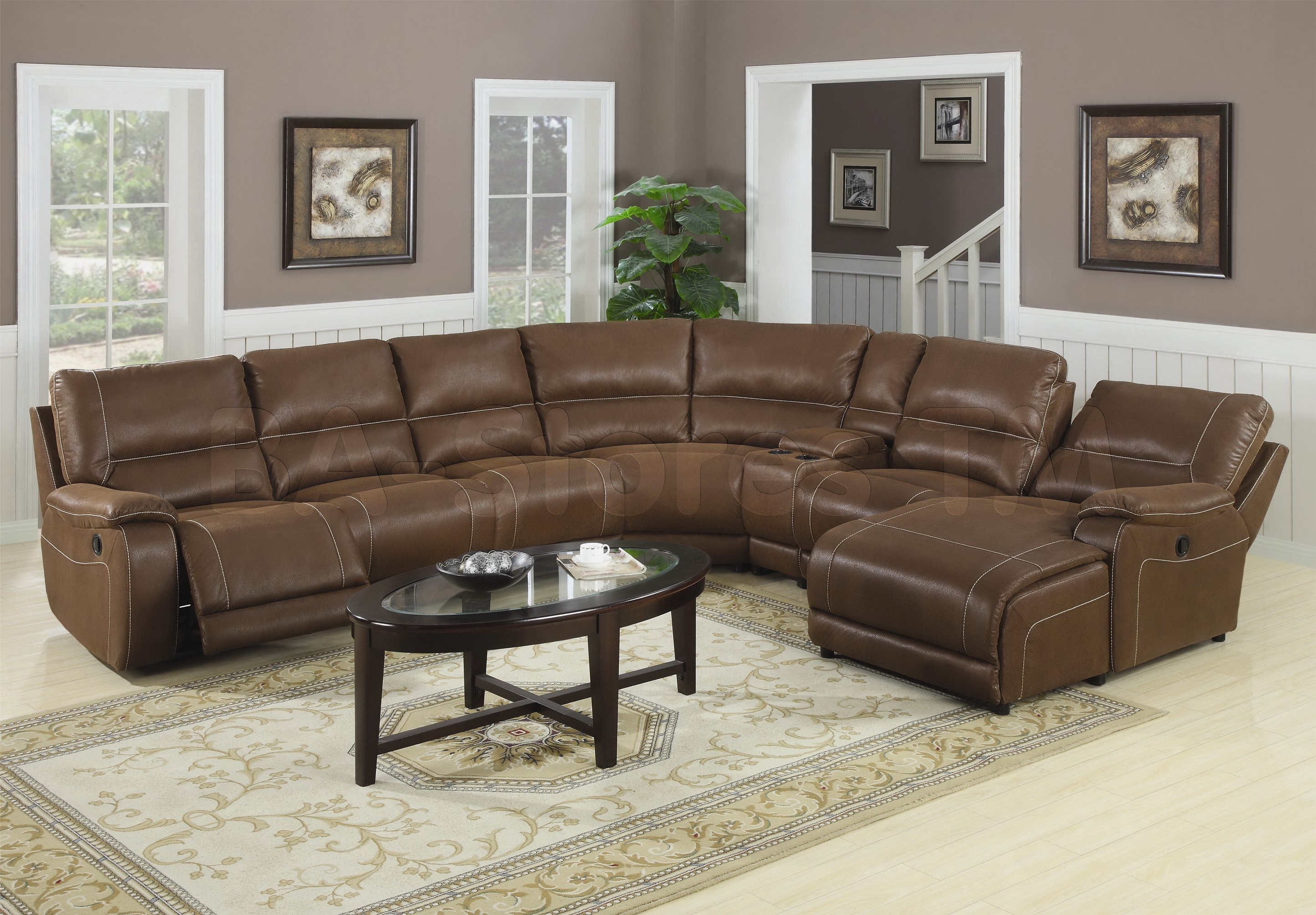 Sectional Sofa Design: Simple Large Sectional Sofa With Chaise Throughout Large Sectional Sofas (Image 8 of 10)