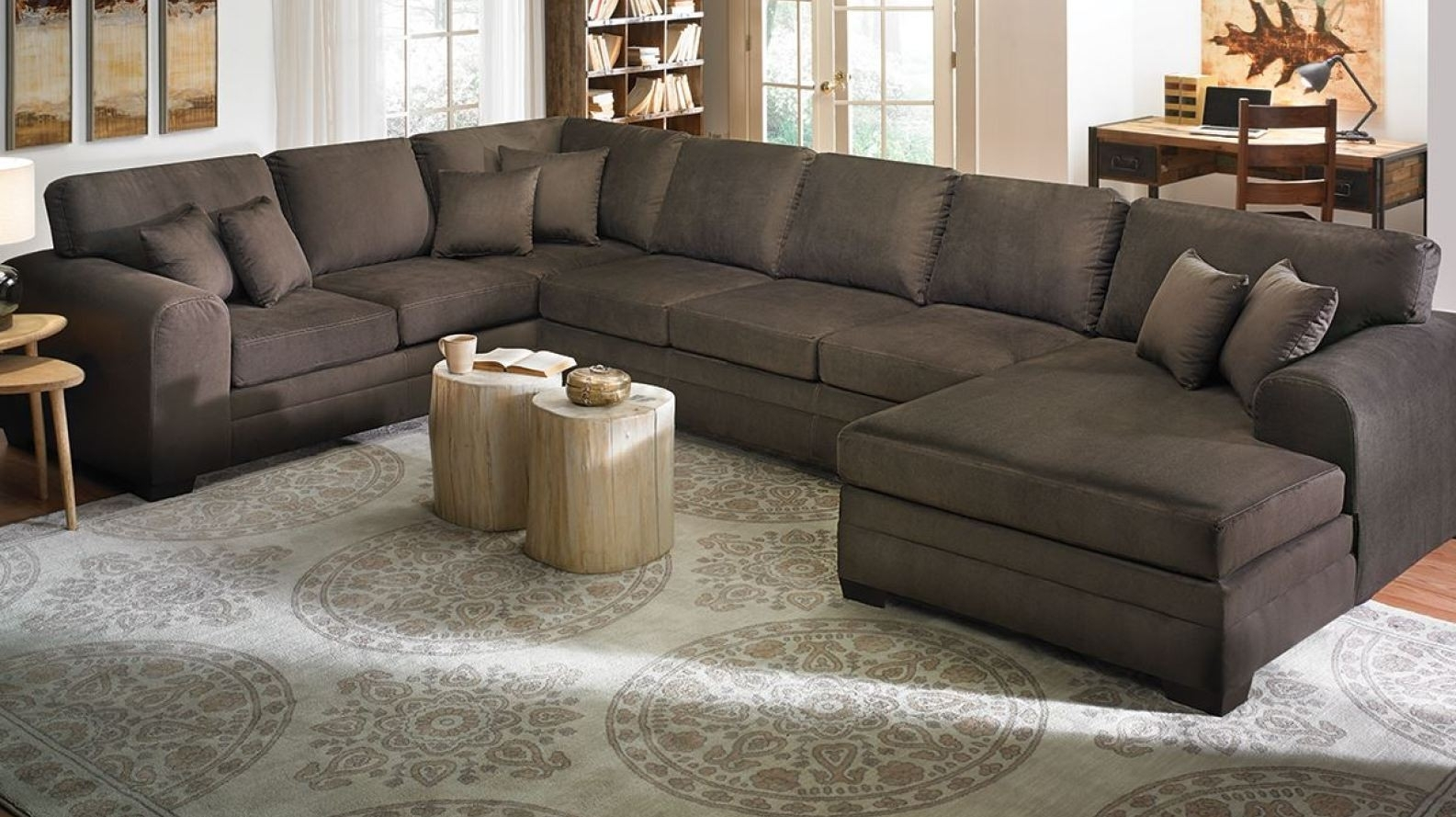 Sectional Sofa : Extra Large Sectional Sofas With Chaise New Pertaining To Long Chaise Sofas (View 6 of 10)