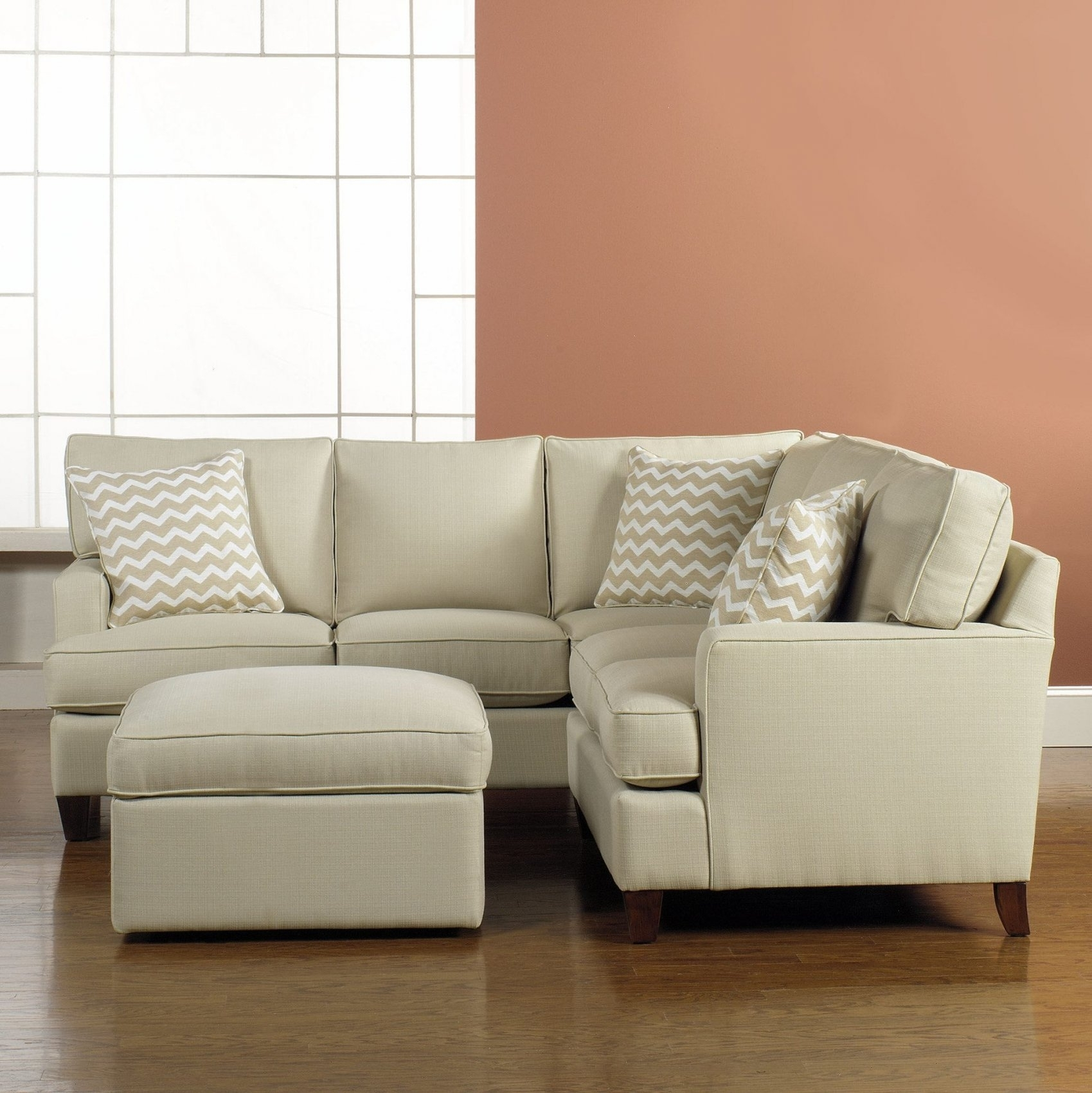 Featured Photo of Narrow Spaces Sectional Sofas