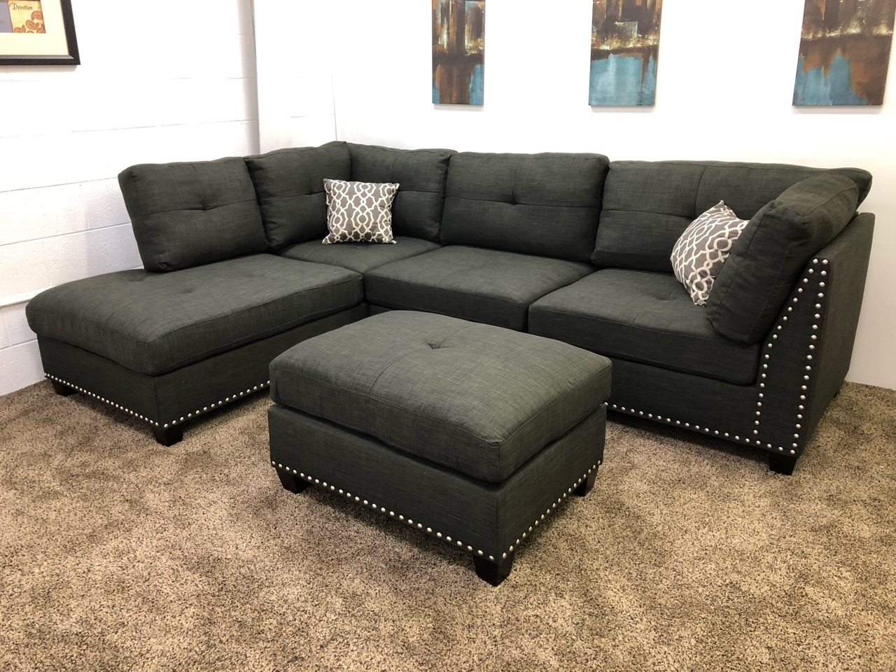 Sectional Sofa W Chaise – 100 Images – Sectionals Sectional Sofas Pertaining To Sectional Sofas At Barrie (View 9 of 10)