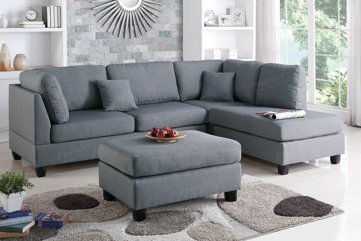 Sectional Sofa W/ Ottoman (F7606) | Bb's Furniture Store In Sectional Sofas With Ottoman (View 6 of 10)