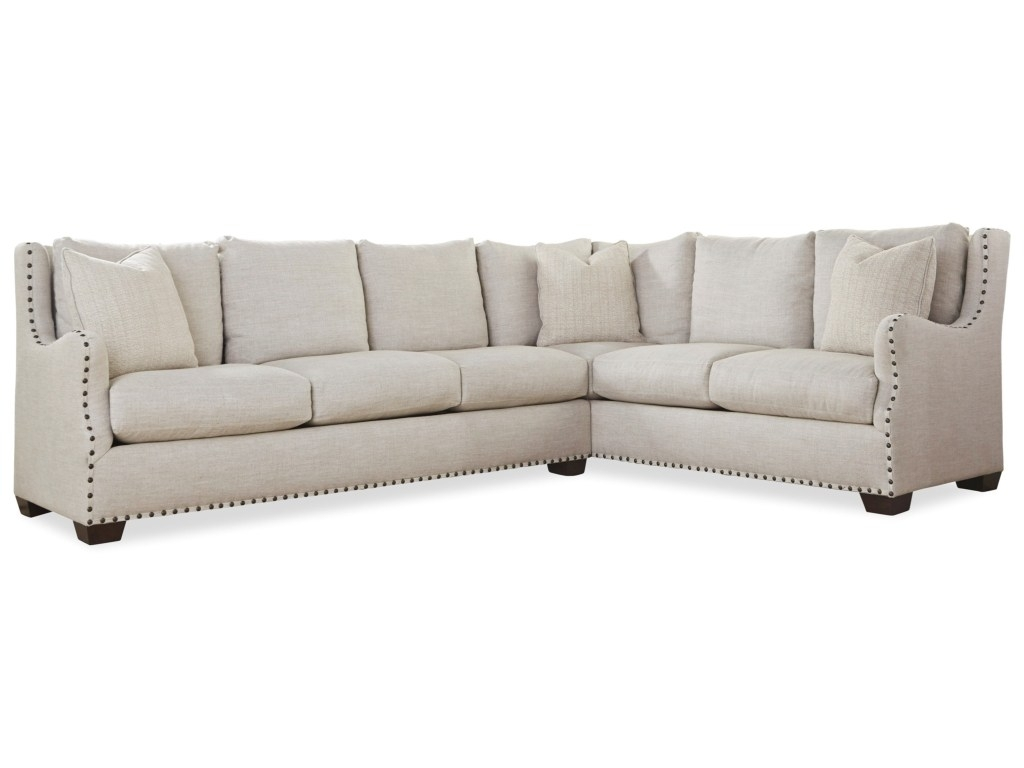 Sectional Sofa With Nailhead Trim Regarding Universal Connor Pertaining To Sectional Sofas With Nailheads (Image 7 of 10)