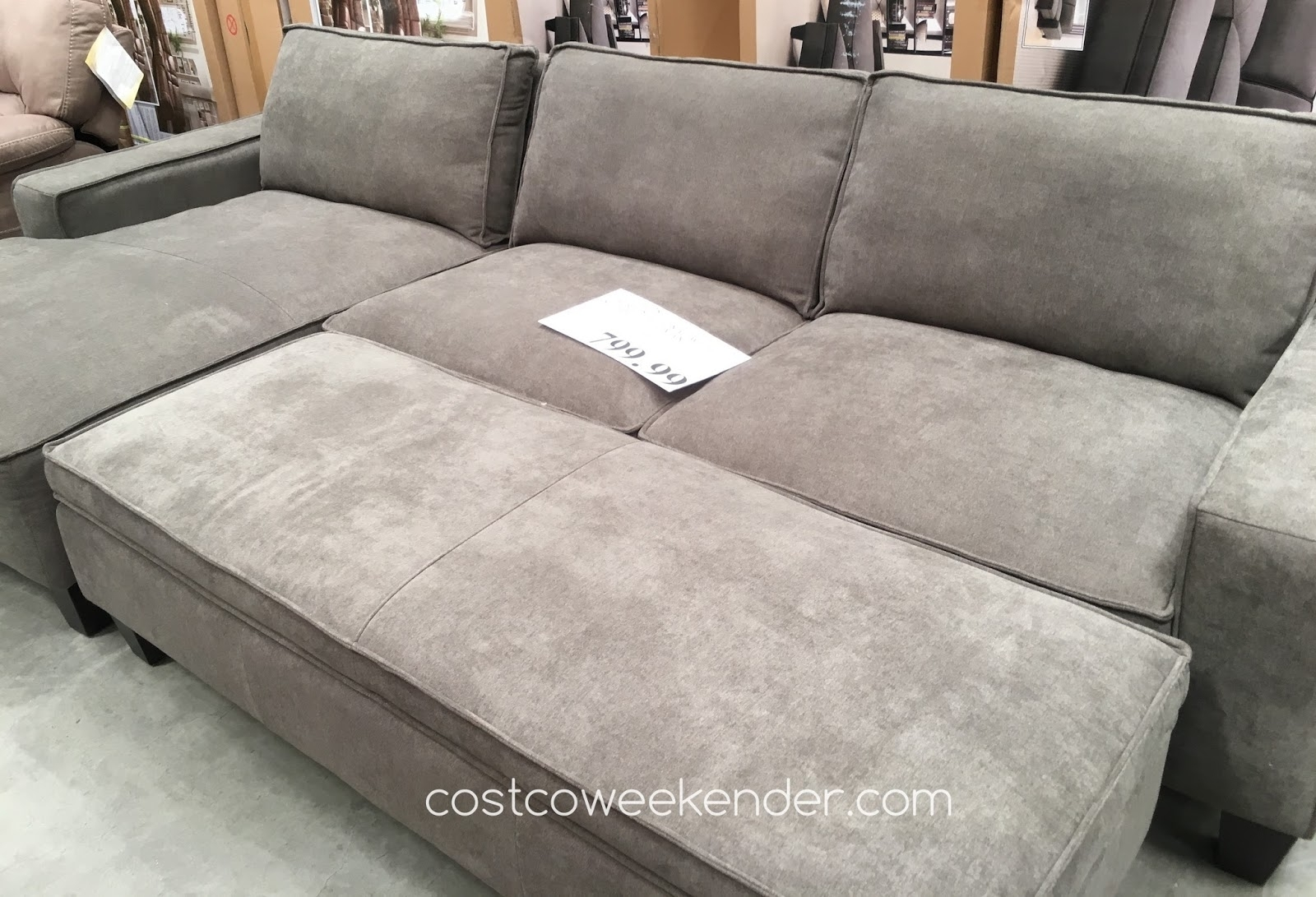 Sectional Sofa With Ottoman – 28 Images – Large Sectional Sofa With For Sectional Sofas With Chaise And Ottoman (View 6 of 10)