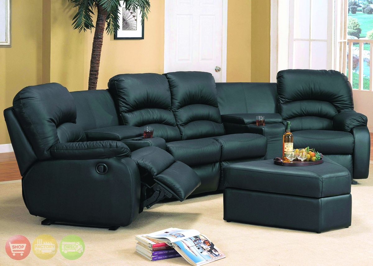 Sectional Sofas For Small Spaces With Recliners – Cleanupflorida Pertaining To Sectional Sofas With Recliners For Small Spaces (Image 8 of 10)
