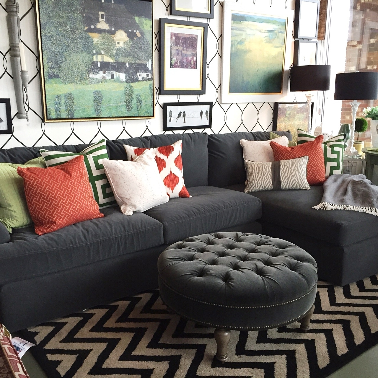 Sectional Sofas In Small Spaces | Trellis Of Erie In Sectional Sofas For Small Spaces (Image 7 of 10)