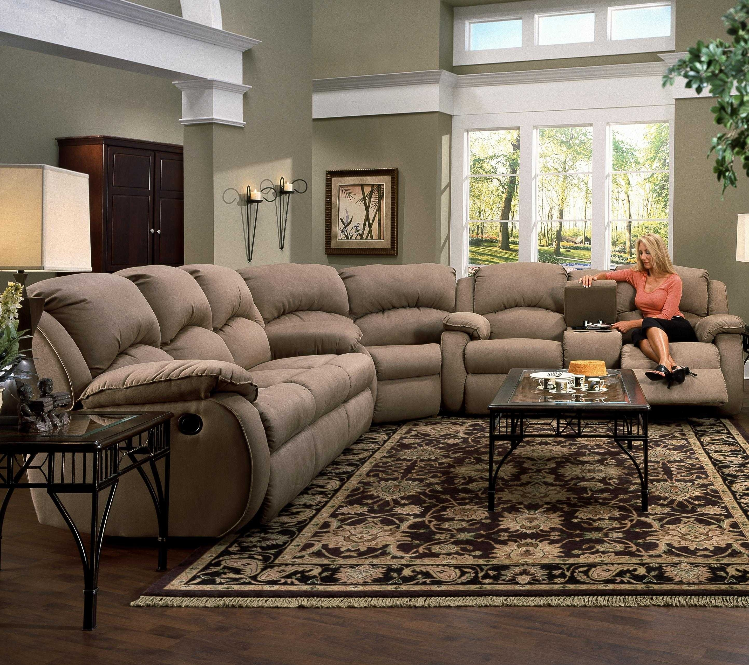 Sectional Sofas With Recliners And Cup Holders Sofa Set Clearance Regarding Sectional Sofas With Cup Holders (Image 9 of 10)