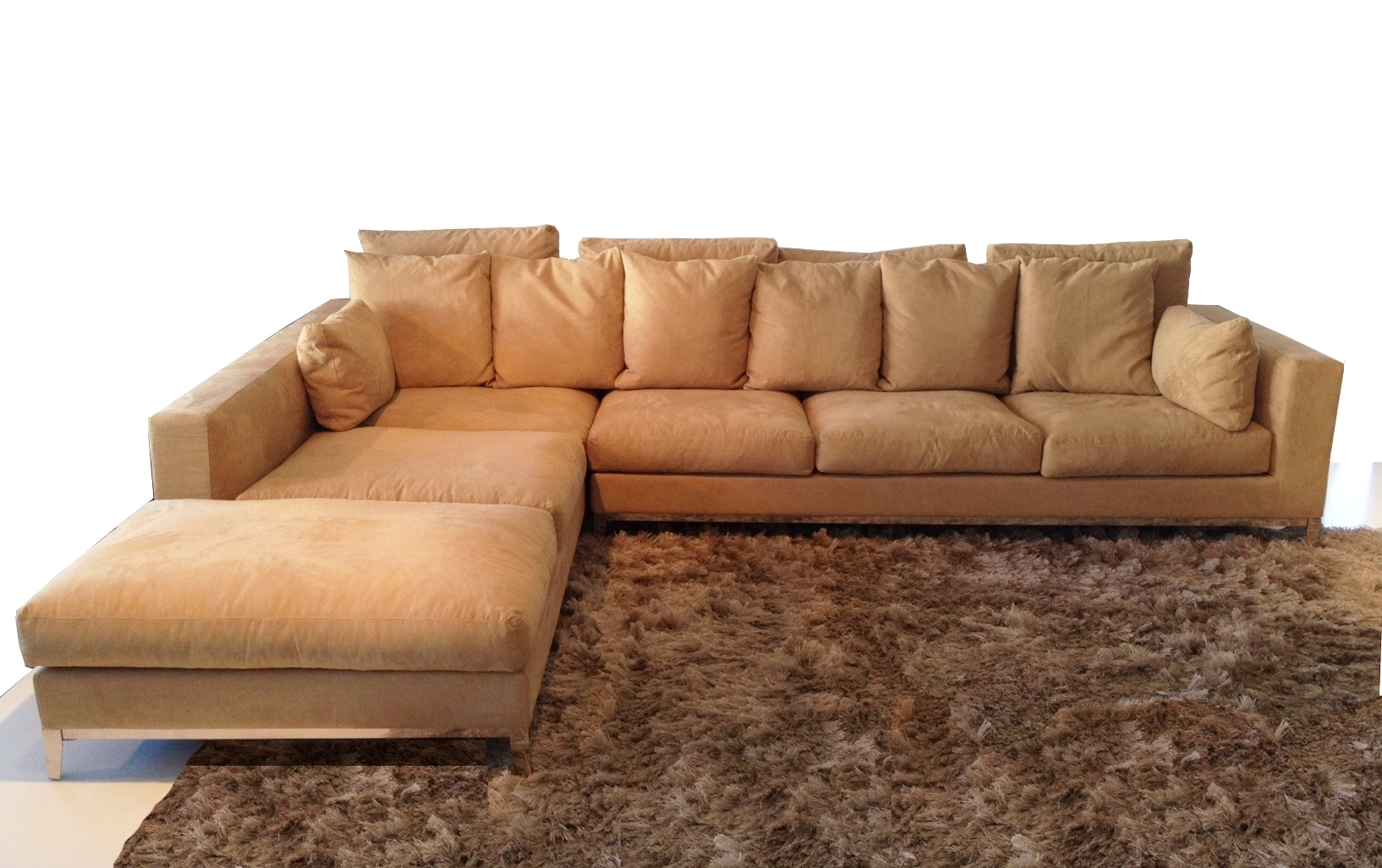 Sectional Sofas With Stainless Steel Legs | Modern Furniture Pertaining To Removable Covers Sectional Sofas (View 3 of 10)