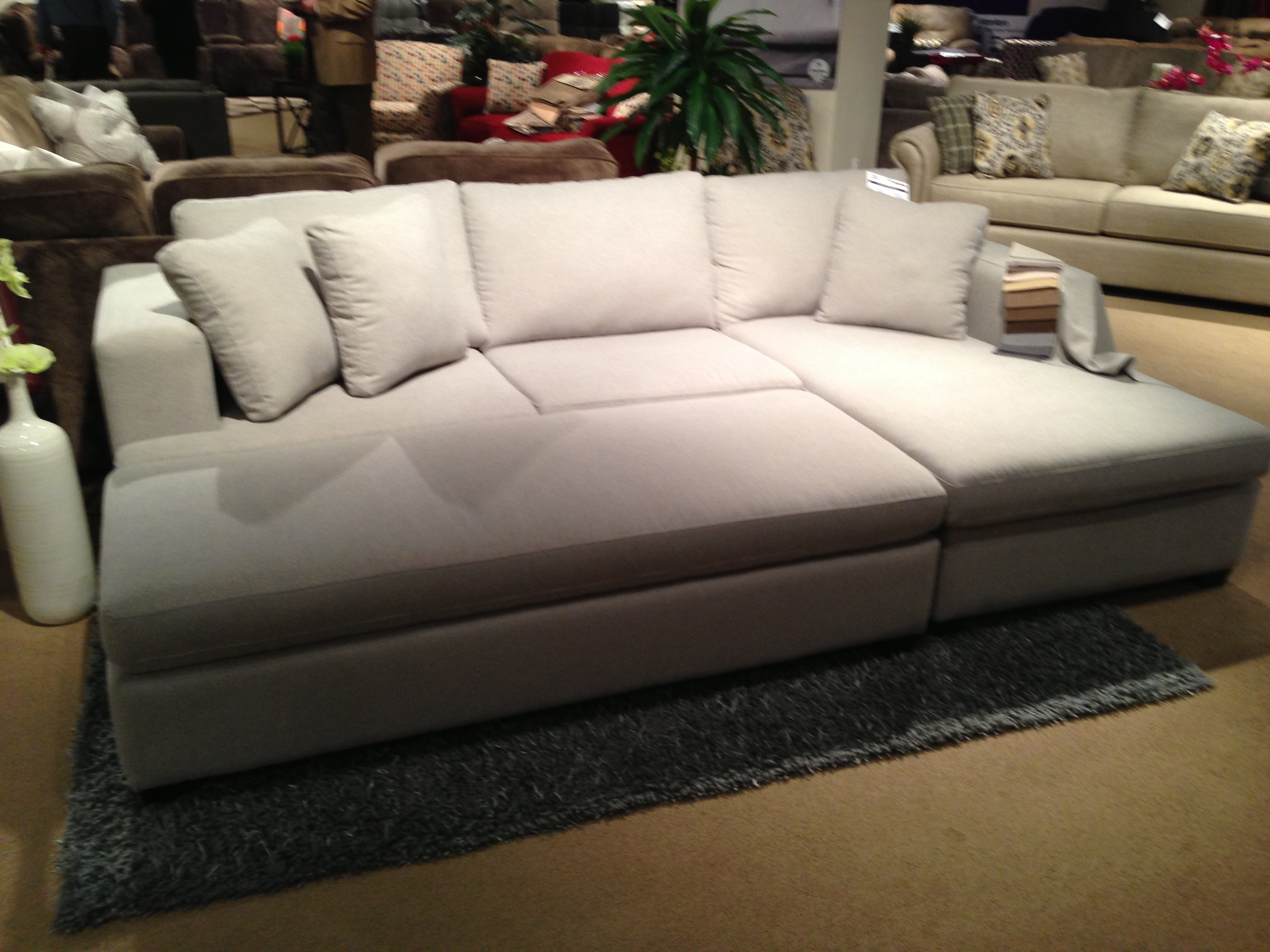 Sectional | Tweetalk With Sectionals With Ottoman (Image 8 of 10)
