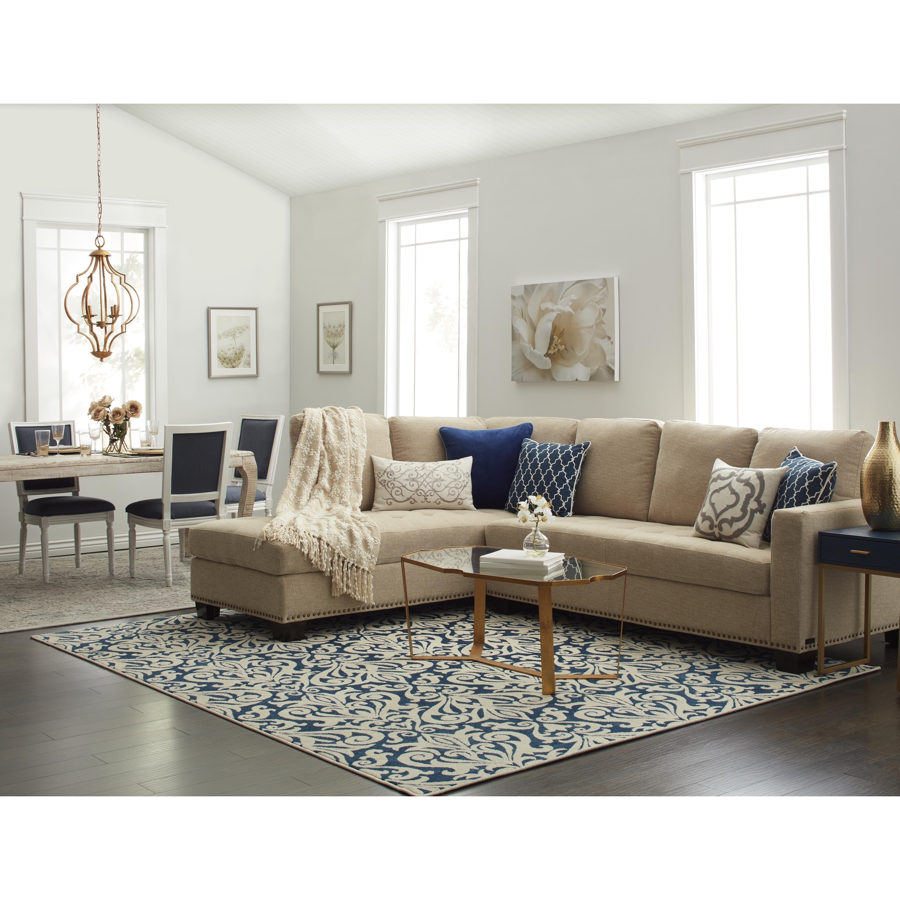 Delightful Featured Image Of Overstock Sectional Sofas