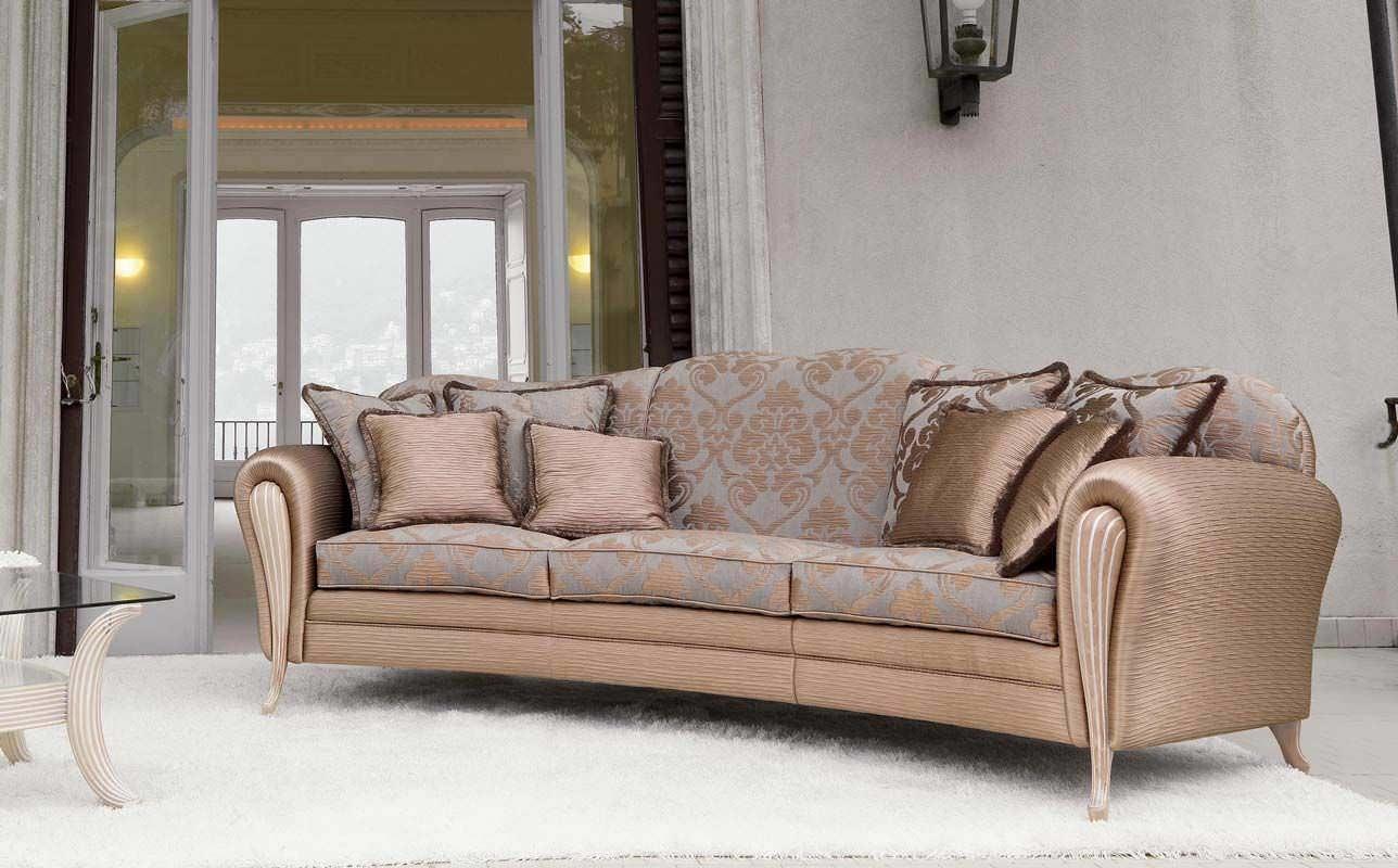 Semicircular Sofa / Classic / Fabric / 3 Seater – Ikarus Ring – Pigoli Regarding Classic Sofas (Image 9 of 10)