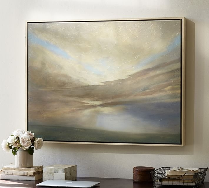 September Framed Canvas | Pottery Barn In Framed Classic Art Prints (Image 14 of 15)