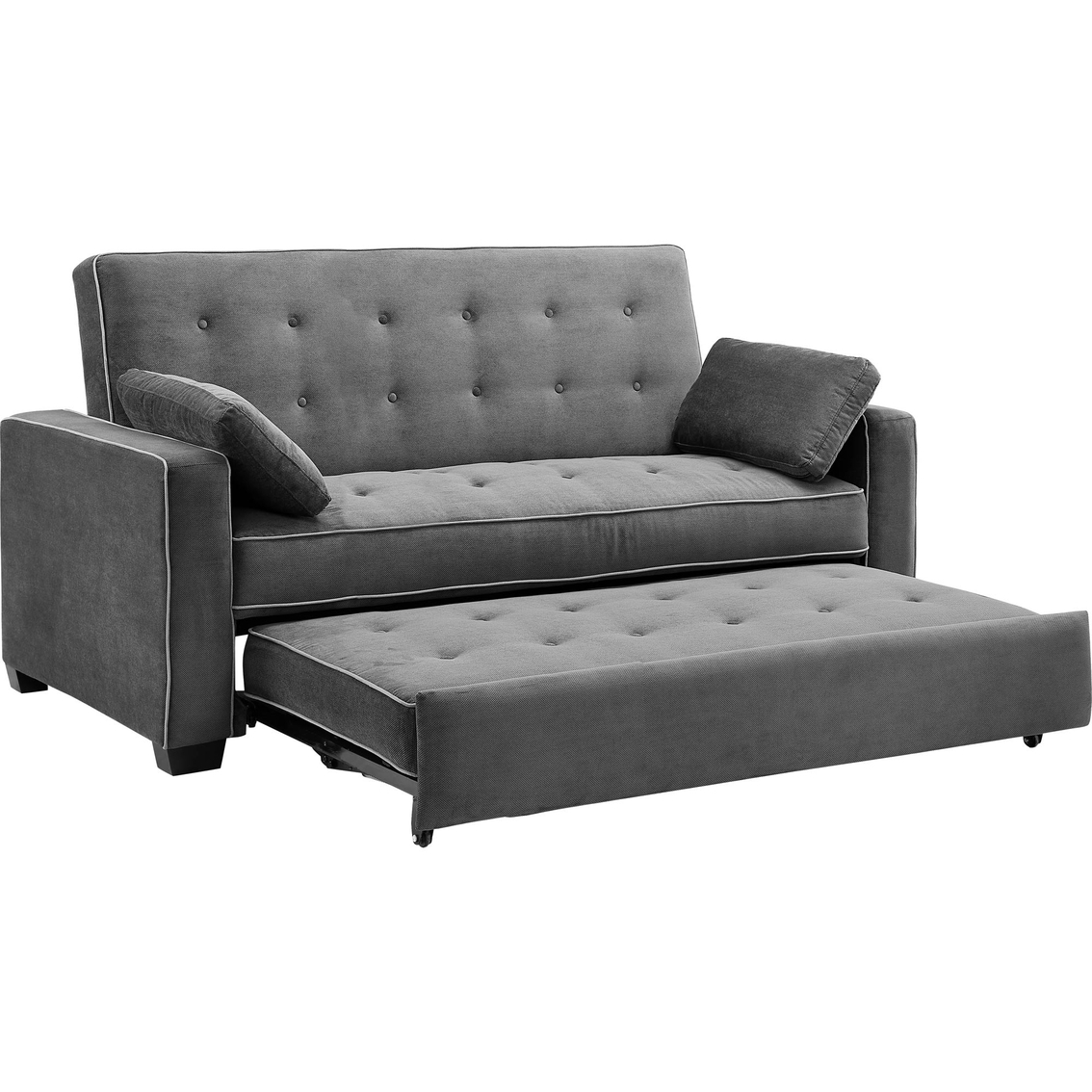 Serta Augustine Convertible Sofa Bed For Convertible Sofas (Image 6 of 10)