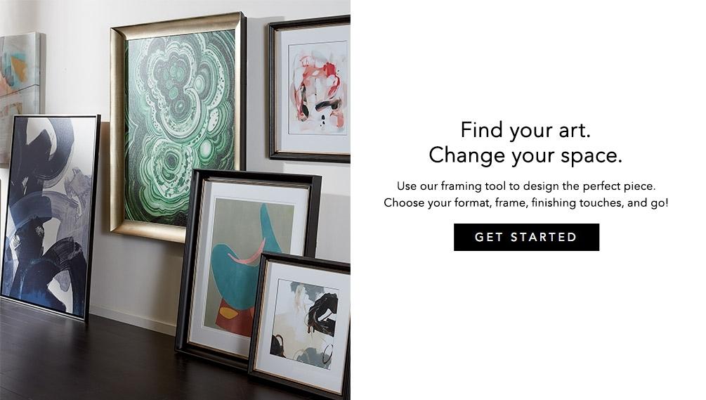 Shop Custom Framed Prints | Custom Framed Art | Ethan Allen In Custom Framed Art Prints (Image 13 of 15)