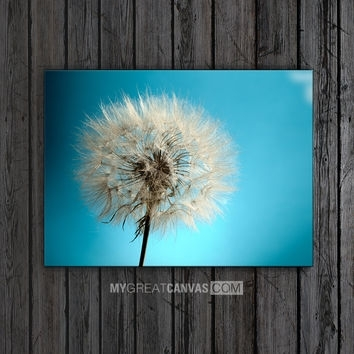 Shop Dandelion Wall Canvas On Wanelo Regarding Dandelion Canvas Wall Art (View 8 of 15)