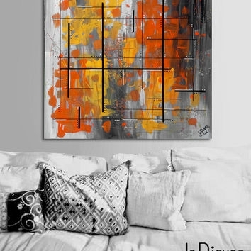 Shop Orange Wall Paint Colors On Wanelo Throughout Abstract Orange Wall Art (View 7 of 15)