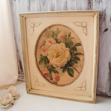 Shop Ornate Wood Frames On Wanelo Intended For Shabby Chic Framed Art Prints (Image 14 of 15)