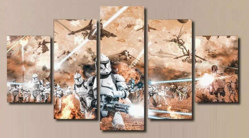 Sick Star Wars Canvas Prints For Your Wall – Spikey Bits Within Movies Canvas Wall Art (View 12 of 15)
