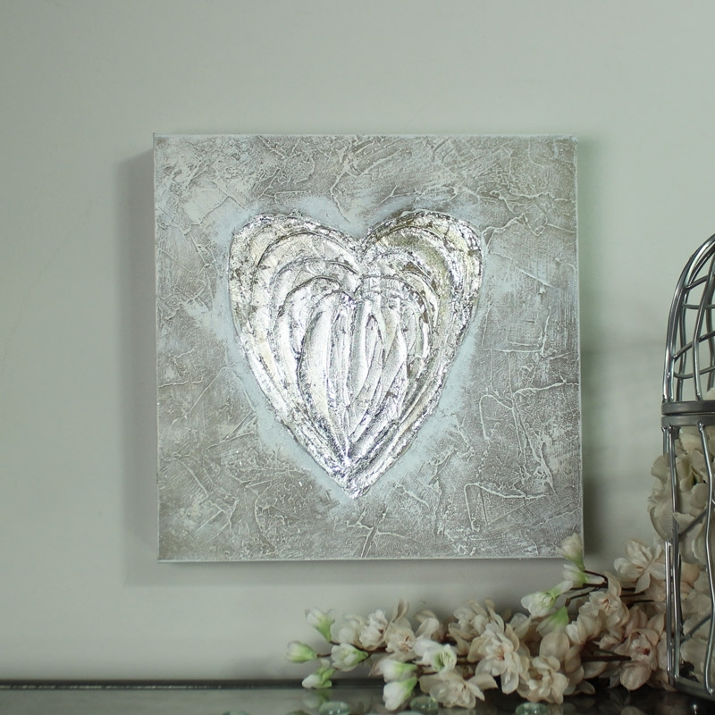Featured Image of Hearts Canvas Wall Art