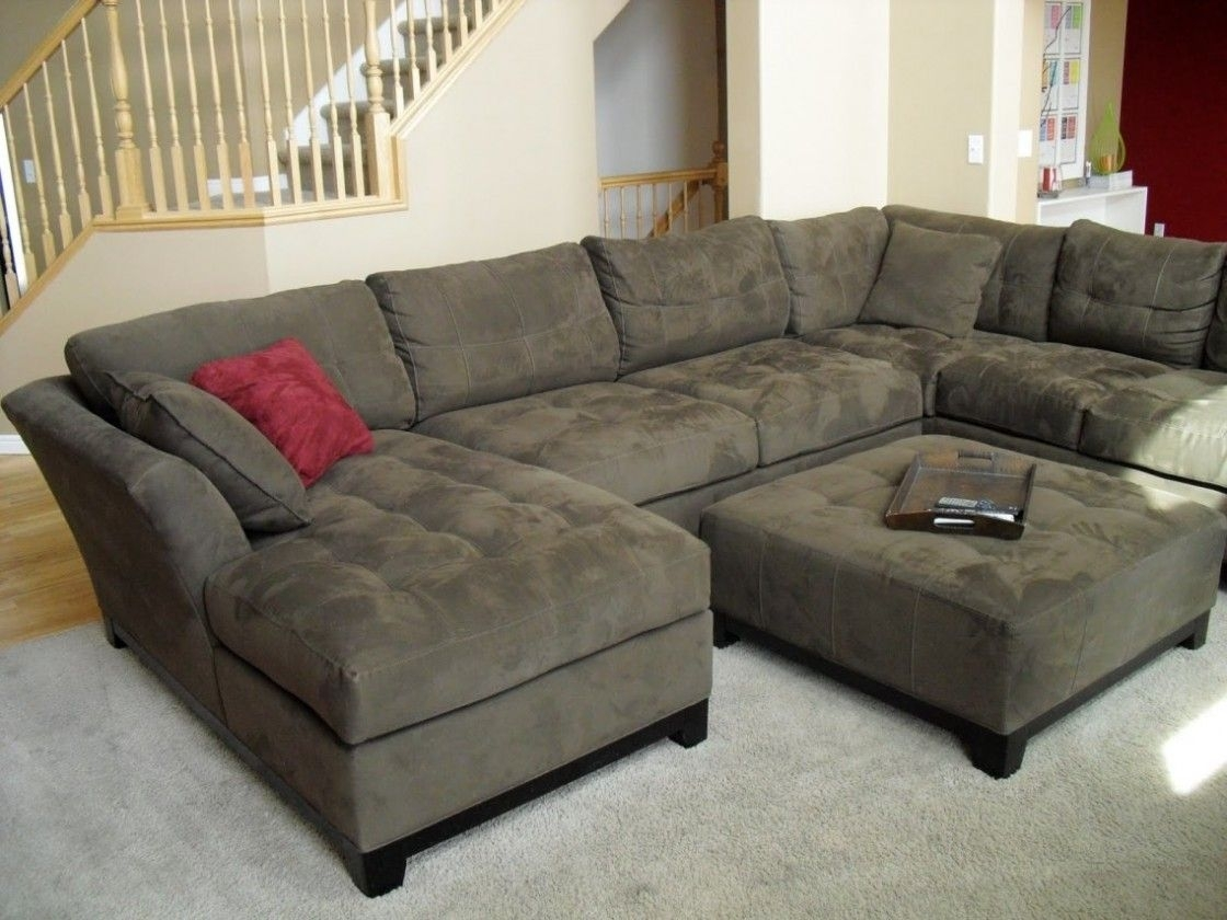 Simple Living Room Decorating Ideas With Cheap U Shaped Fabric In On Sale Sectional Sofas (View 3 of 10)