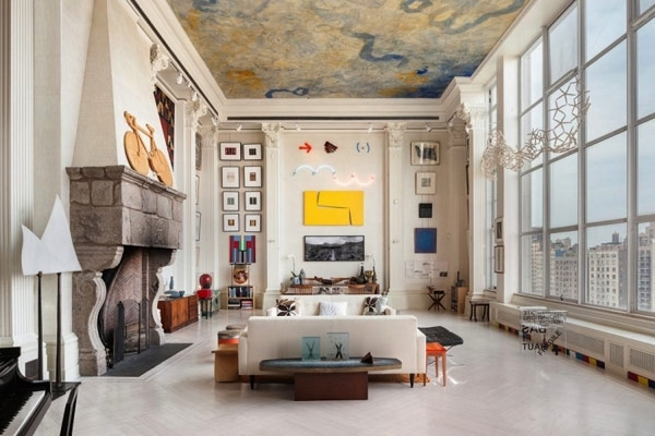 Simple Tips Modern Decorating Living Space With Higher Ceilings Throughout High Ceiling Wall Accents (Image 12 of 15)