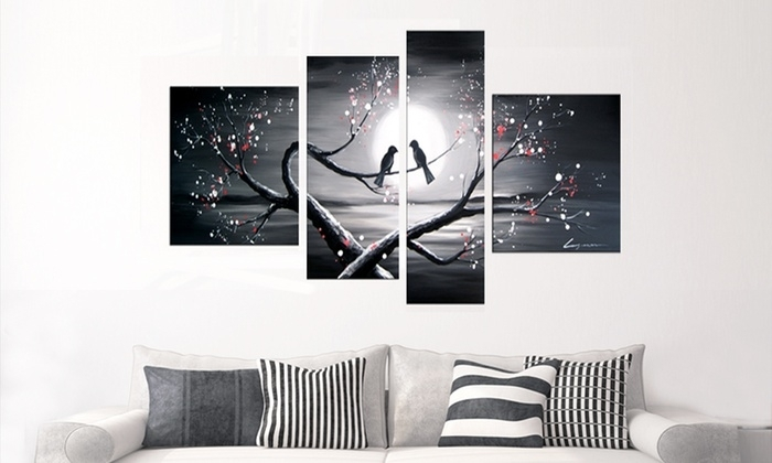 Single  And Multipanel Artwork | Groupon Goods With Groupon Canvas Wall Art (Image 15 of 15)