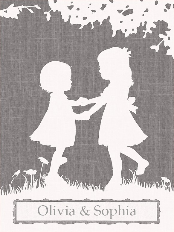Sisters Dance Canvas Wall Artoopsy Daisy – Rosenberryrooms Pertaining To Dance Canvas Wall Art (Image 12 of 15)