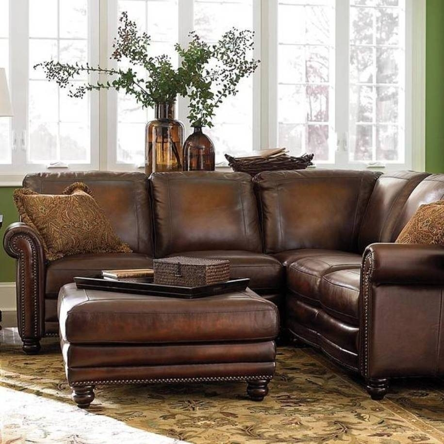 Small Leather Sofa And Teak Outdoor Plus Chaise Lounge Or Espresso Regarding Sectional Sofas With High Backs (Image 9 of 10)