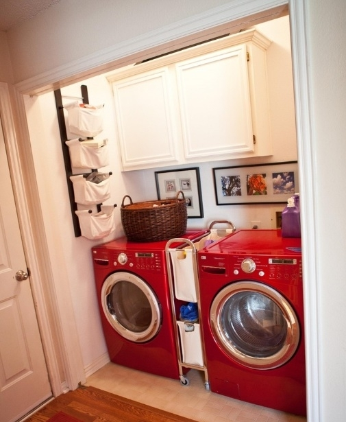 Small Narrow Laundry Room Ideas With Decorative Wall Accents With Regard To Wall Accents For Narrow Room (Image 15 of 15)