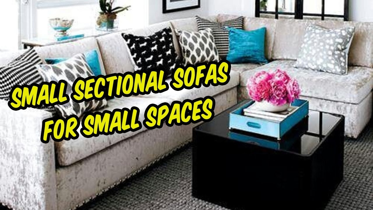 Small Sectional Sofas For Small Spaces | Living Room, Apartments Within Narrow Spaces Sectional Sofas (View 5 of 10)