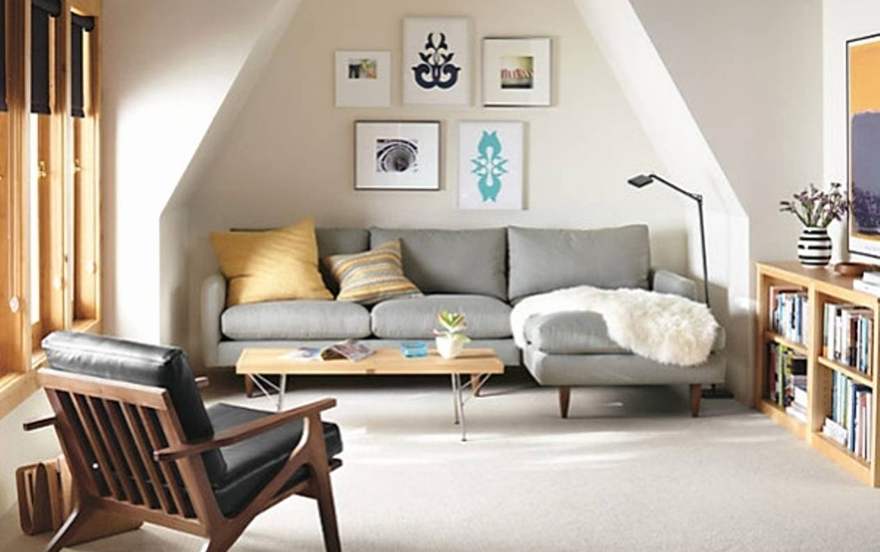 Small Space Sectional Sofa Elegant Inspirational Small Space With Small Spaces Sectional Sofas (Image 8 of 10)