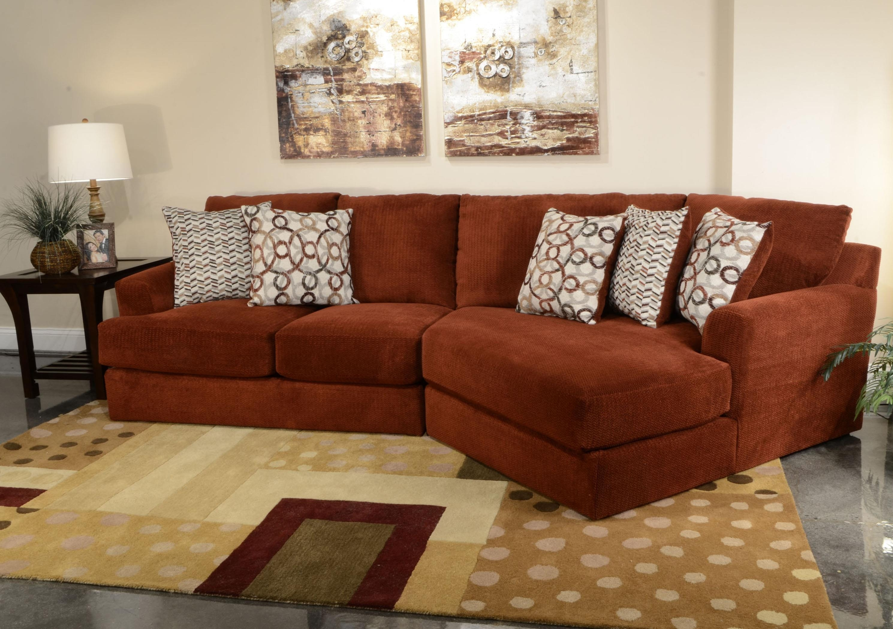 Small Three Seat Sectional Sofajackson Furniture | Wolf And With Jackson Tn Sectional Sofas (Image 8 of 10)