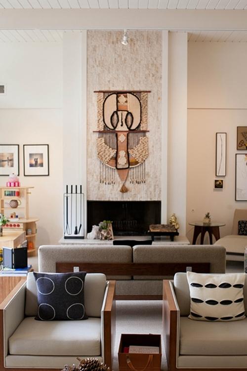 Sneak Peek: Best Of Textile Wall Hangings – Design*sponge Throughout Woven Textile Wall Art (View 8 of 15)
