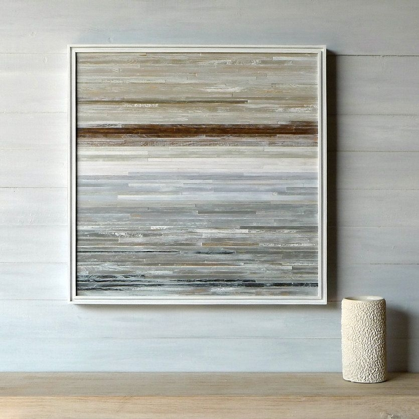 So Amazing!!!! I Wish I Could Afford It!!!!! Modern Rustic Wood With Regard To Abstract Horizon Wall Art (View 6 of 15)