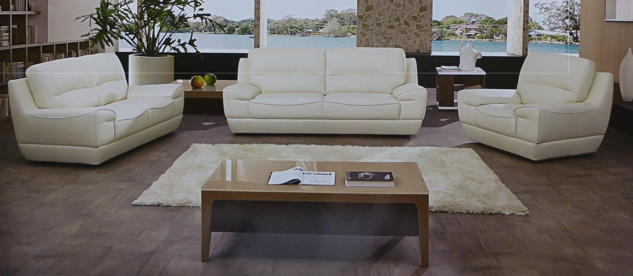 Sofa: Designs White Sofa And Loveseat White Sofa And Loveseat Set In Off White Leather Sofas (Image 9 of 10)