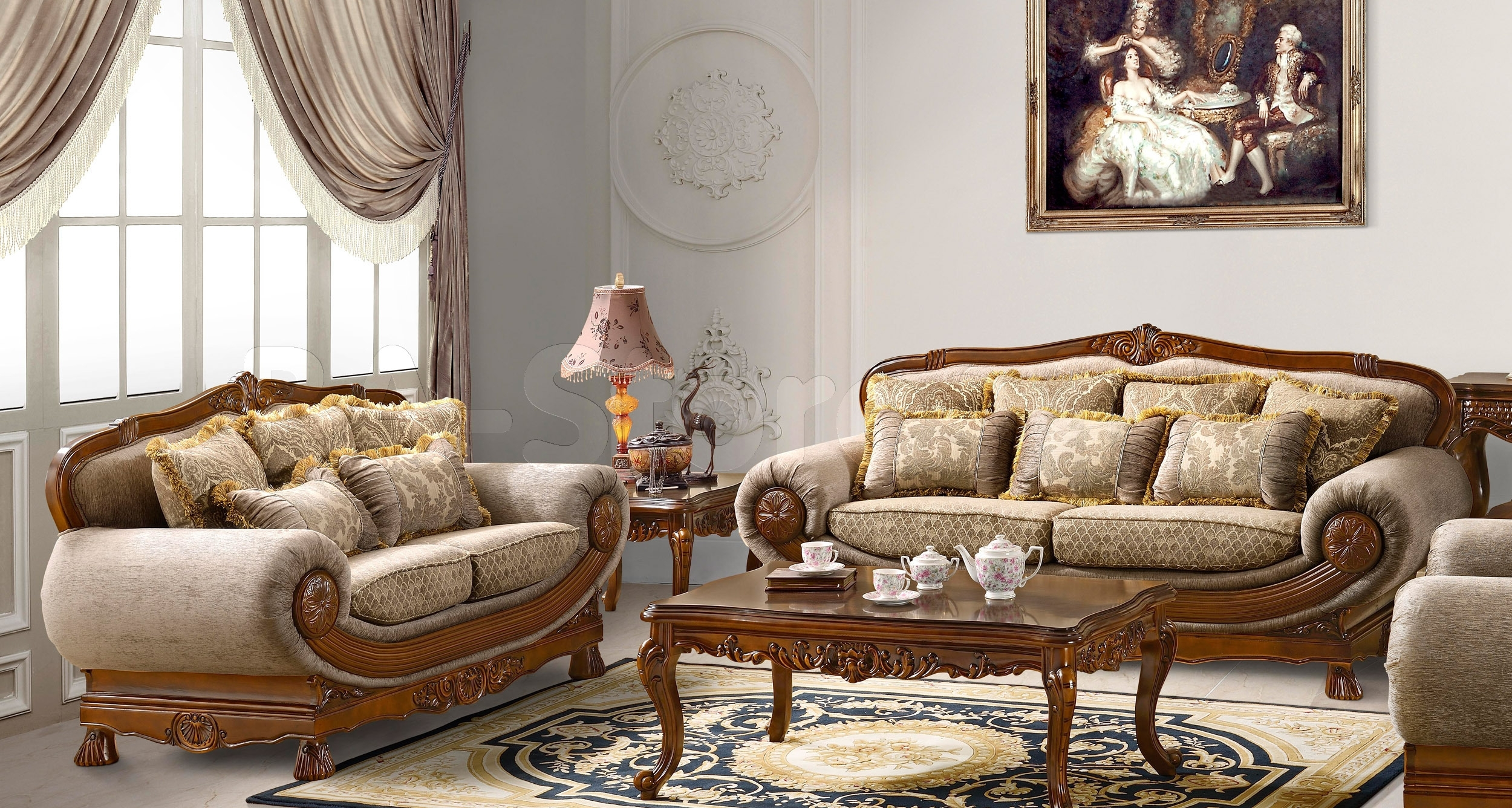 Sofa : Fabric Sofas Twin Headboards Firm Leather Sofa Sofas Online Regarding Traditional Sofas (Image 7 of 10)