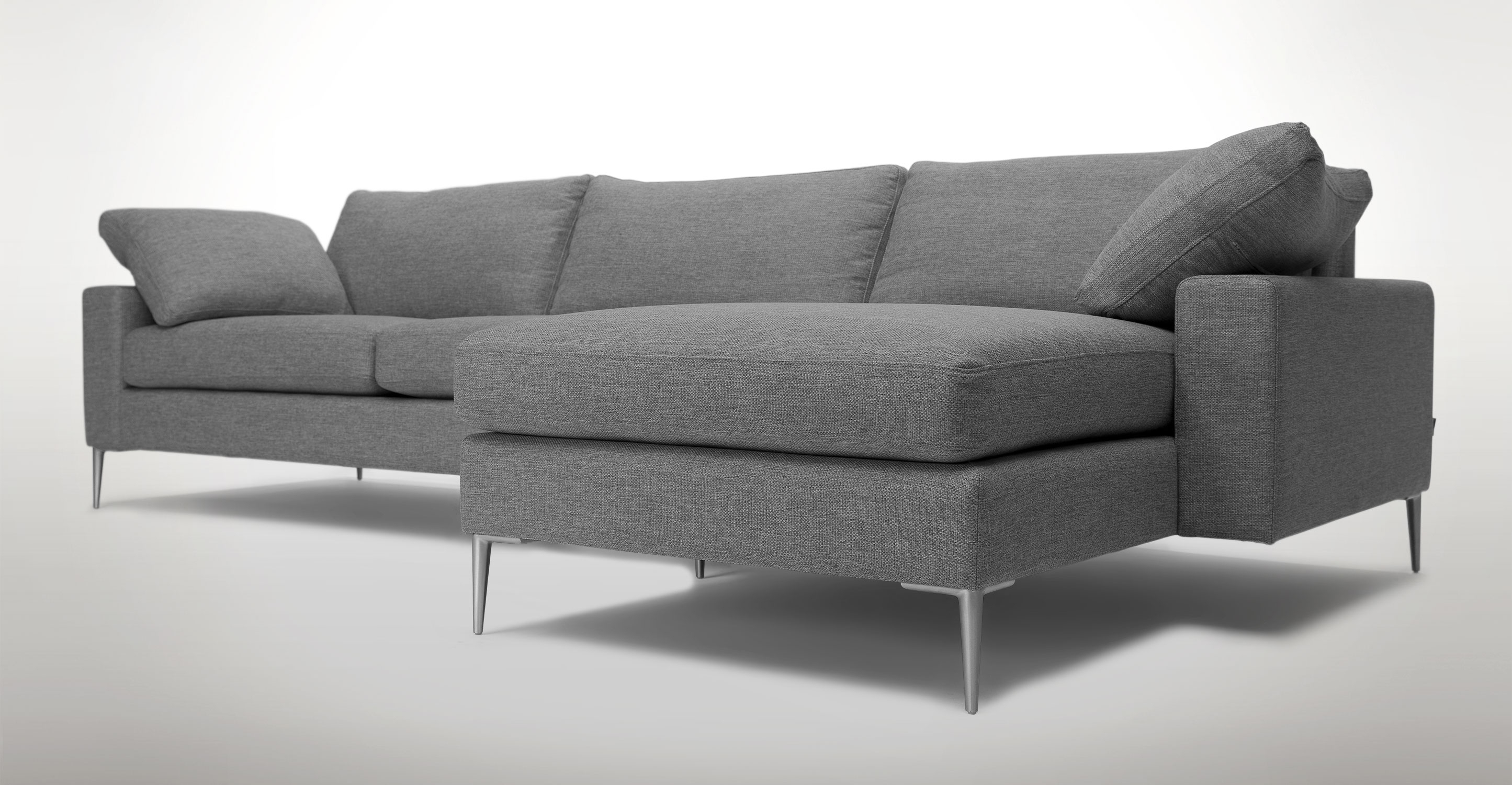 Sofa Orange Modern Appealing Curved Sectional For Furniture Leather Within Sectional Sofas At Bc Canada (View 2 of 10)