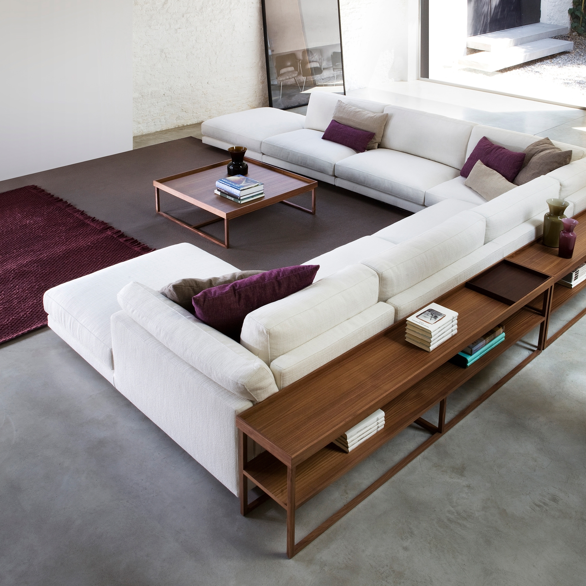 Featured Photo of Sofas With Back Consoles