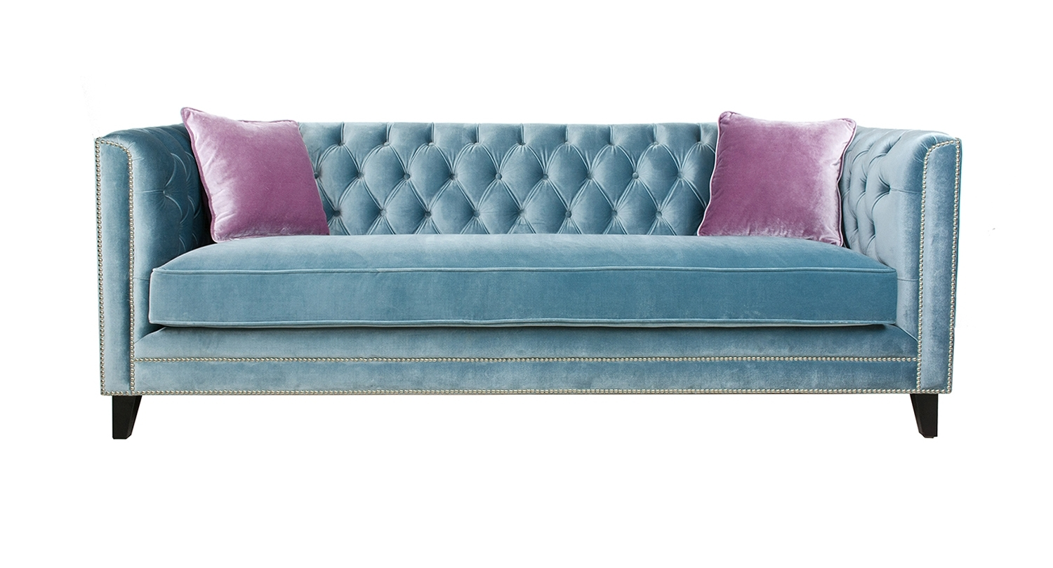 Sofas – Categories – Pasargad Carpets Intended For Aqua Sofas (View 6 of 10)