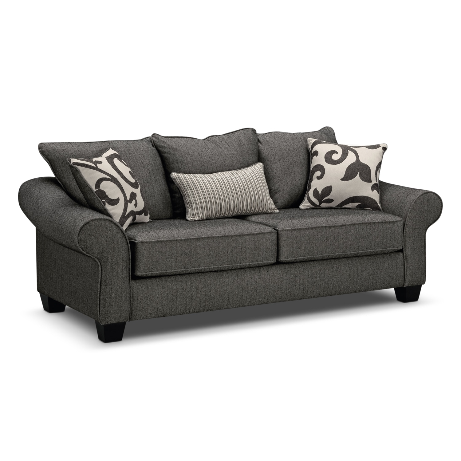 Sofas & Couches | Living Room Seating | Value City Furniture And Within Harrisburg Pa Sectional Sofas (View 8 of 10)