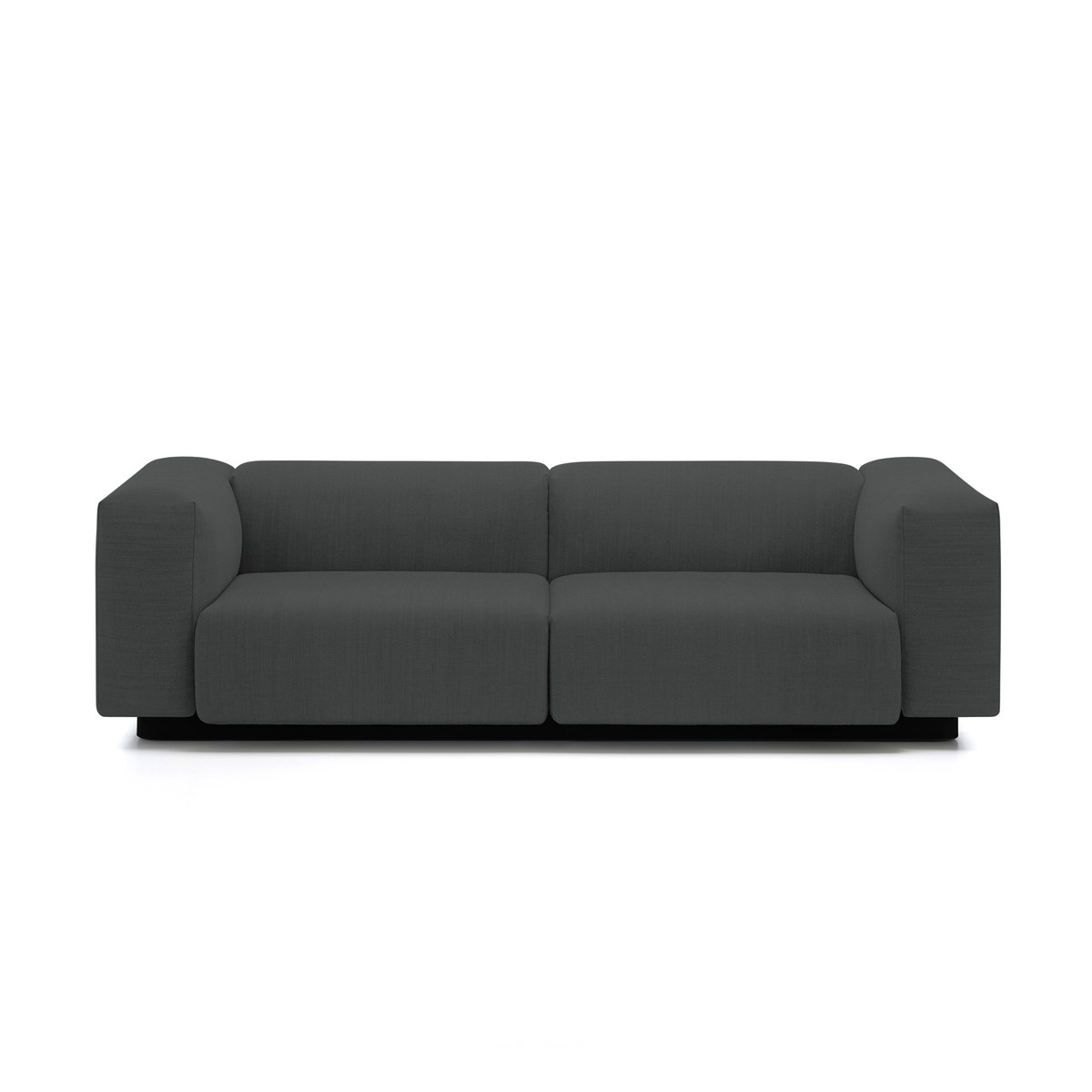 Soft Modular 2 Seater Sofa From Vitra In The Connox Shop With Regard To Soft Sofas (Image 9 of 10)