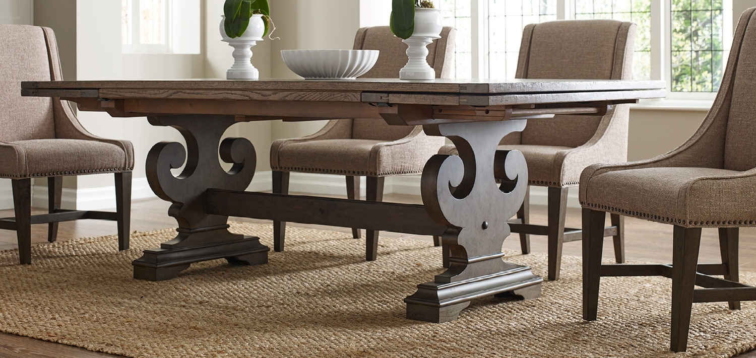 Solid Wood Furniture And Custom Upholsterykincaid Furniture, Nc With Regard To Sofa Chairs With Dining Table (Image 9 of 10)