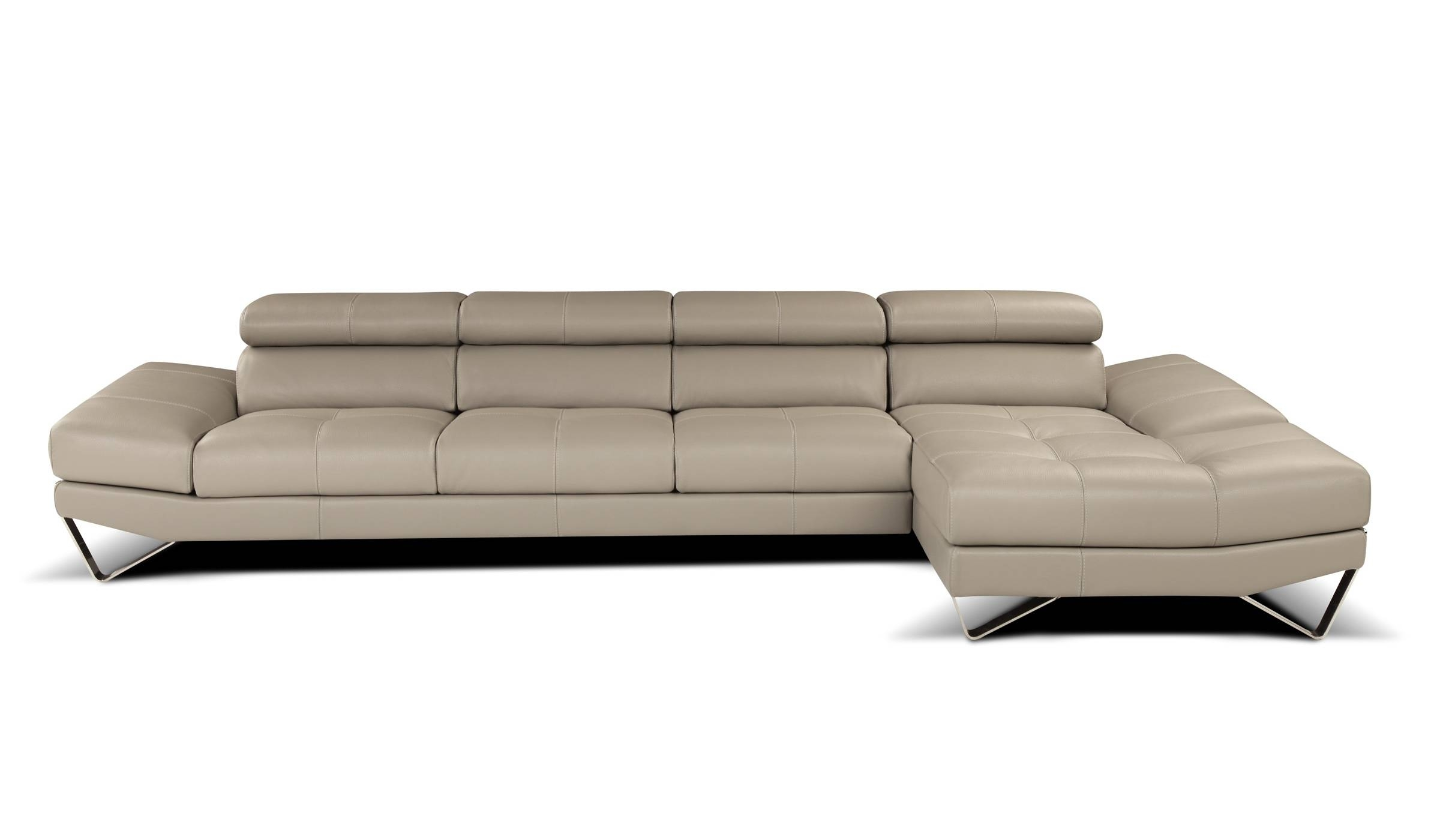 Sophisticated All Italian Leather Sectional Sofa Spokane Washington Intended For High End Leather Sectional Sofas (Image 10 of 10)