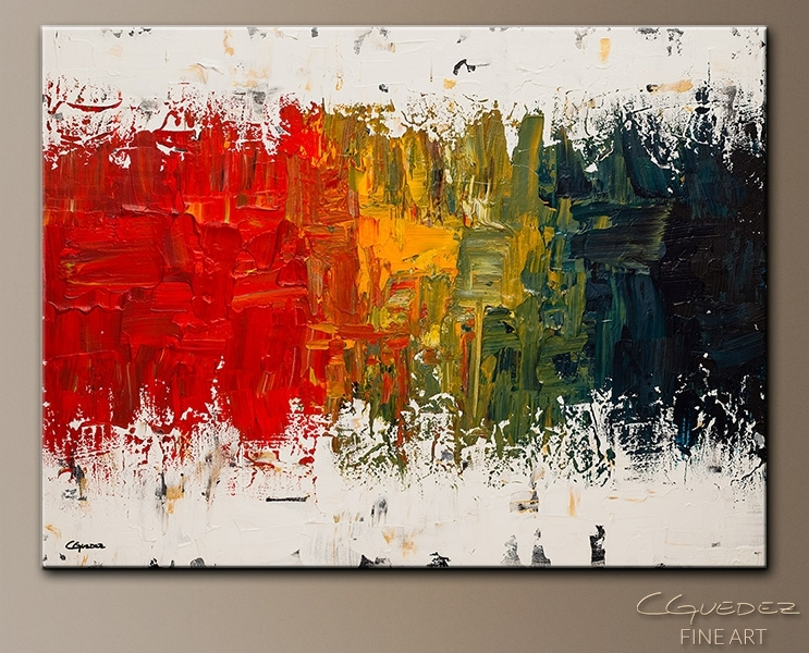 Spectrum Abstract Art|Abstract Wall Art Paintings For Sale|Modern For Modern Abstract Wall Art (View 4 of 15)