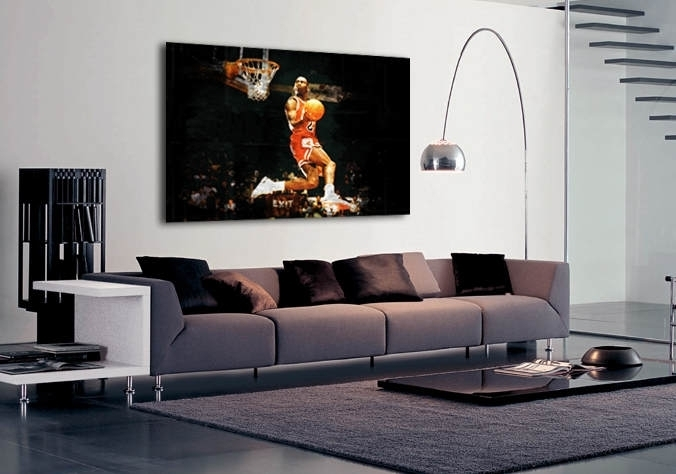 Sport Michael Jordan Slam Dunk | Buy Sport Michael Jordan Slam Dunk Inside Michael Jordan Canvas Wall Art (Image 14 of 15)