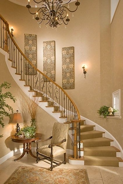 Staircase Wall Best Stairs Wall Decoration – Wall Art And Wall With Regard To Staircase Wall Accents (Image 9 of 15)