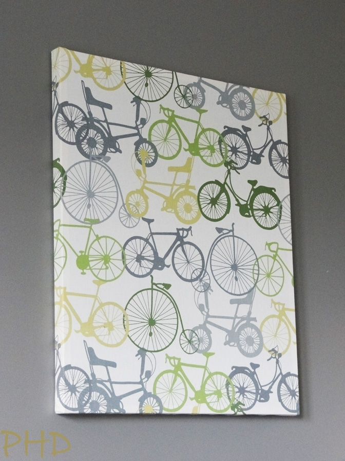Stretched Fabric Wall Art In Diy Fabric Wall Art (Image 11 of 15)