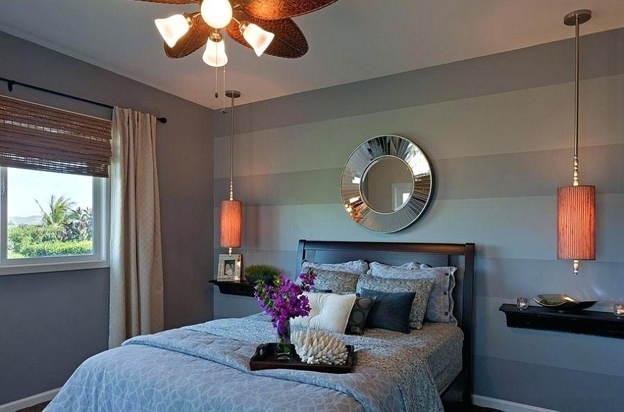 Striped Bedroom Wall – Openasia (View 10 of 15)