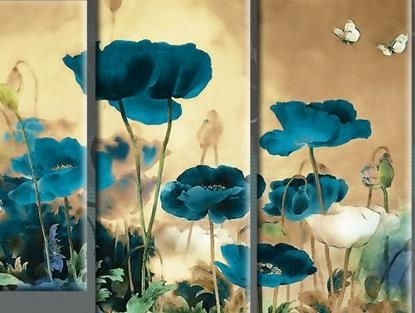Stunning Poppies Wall Art Photos – Wall Art Design Pertaining To Poppies Canvas Wall Art (View 12 of 15)